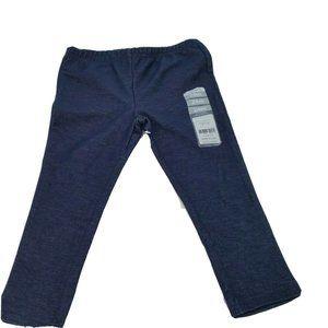 Carters Toddler Girls Knit Leggings 24M Blue